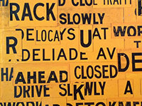 """Streetsigns"" 